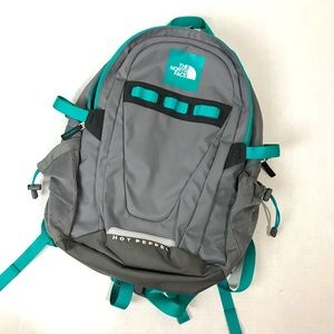 THE NORTH FACE HOT PEPPER BACKPACK - Gray & Teal